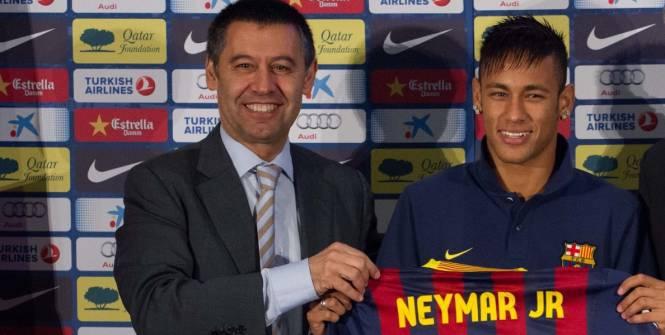 Neymar au Barça «jusqu'à sa retraite» ?