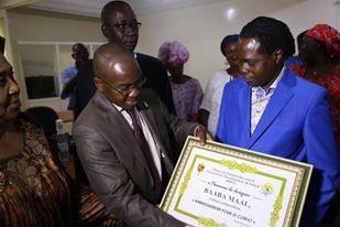 Baba MAAL nommé Ambassadeur pour le climat