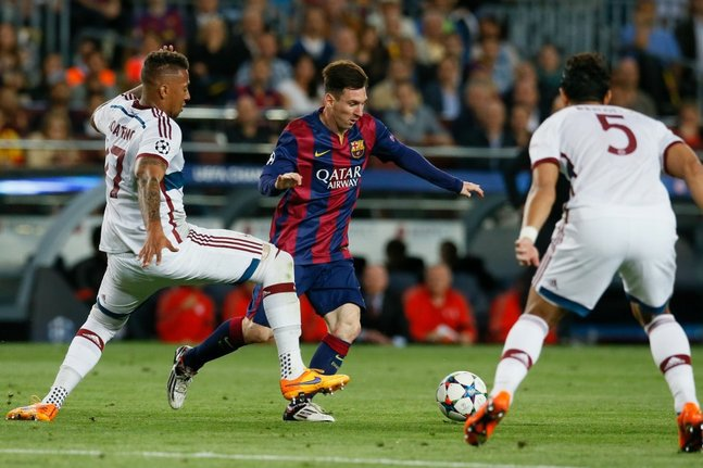 L'éclair de Messi contre le Bayern élu but de l'année