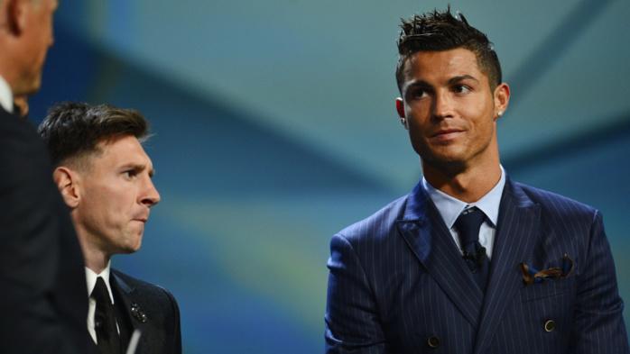 """Quand Lionel Messi """"photobombe"""" Cristiano Ronaldo (et inversement)"""