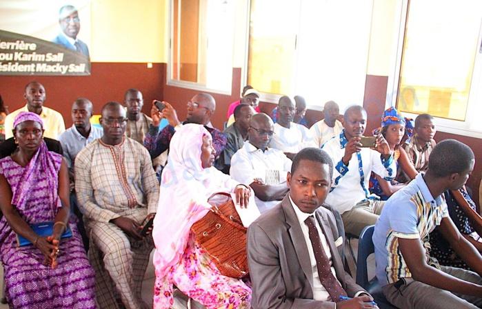 Abdou Karim Sall raille l'opposition après leur meeting raté : « Les sénégalais venaient juste pour voir leur grand-père et s'enquérir de son état de santé »