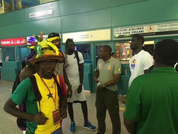 BASKET : L'équipe nationale du Sénégal bloquée à l'aéroport de Tunis
