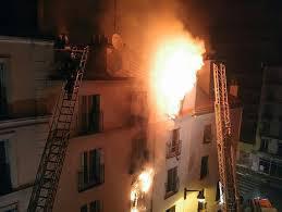 PARIS 18 ème : Incendie criminel d'un immeuble, 8 morts dont 4 Sénégalais