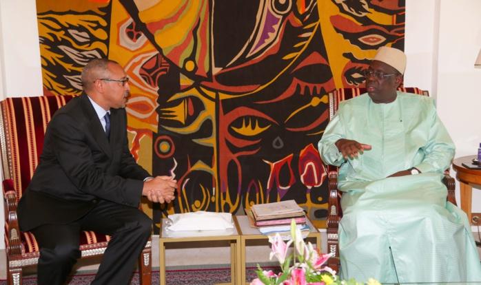 Audience de M. Jorge Tolentino Araujo, Ministre des Affaires Etrangères du Cap-Vert