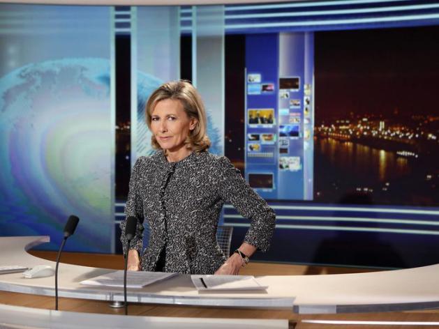 FRANCE : Claire Chazal, la reine du 20 heures, va tirer sa révérence