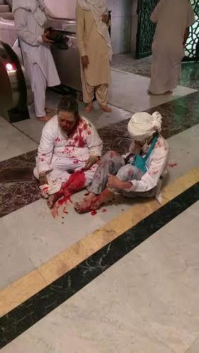 Les images de l'accident de la grue qui a fait 87 morts à la mosquée de la Mecque