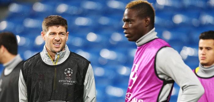 Liverpool : Gerrard dézingue Balotelli
