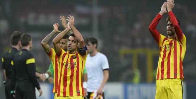 Xavi défend Piqué (FC Barcelone)