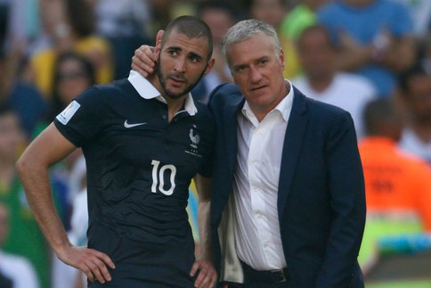 Deschamps compare Benzema à Messi et Ronaldo