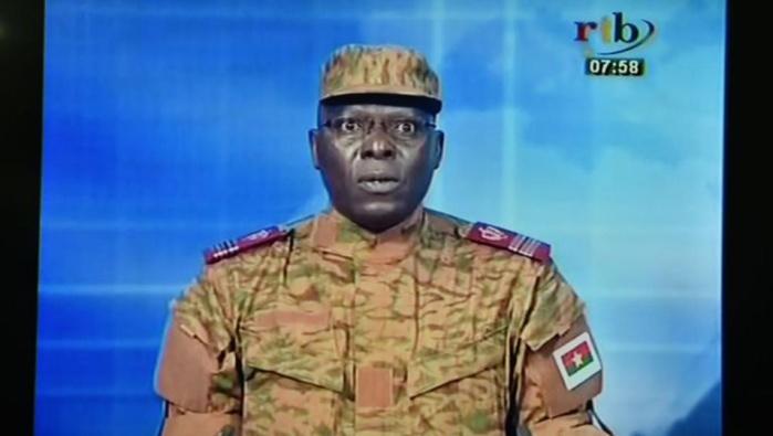 Coup d'Etat au Burkina Faso : L'intégralité de la déclaration des militaires