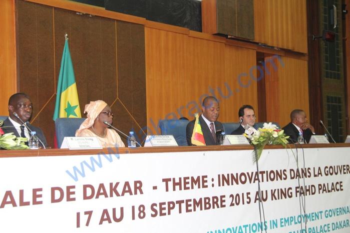 Conférence internationale de Dakar : Pour remédier au chômage des jeunes, les acteurs prônent l'innovation