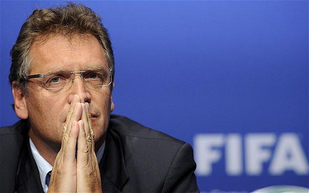 Jérôme Valcke relevé de ses fonctions de secrétaire général de la Fifa