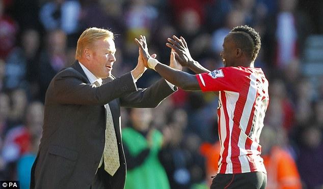 Les conseils du Coach de Southampton, Ronald Koeman, à Sadio Mané