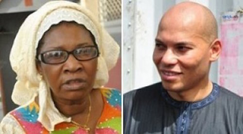 """Visite à Rebeuss : Les promesses et prédictions de la """"voyante"""" Selbé Ndom à Karim Wade"""