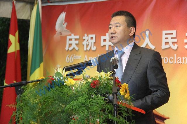 Images de l'Anniversaire de la République Populaire de Chine et du départ du Sénégal de l'Ambassadeur, M. XIA Huang