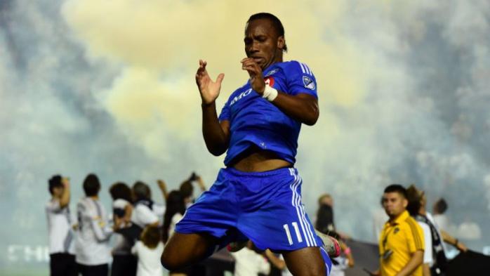 À l'Impact Montréal, l'Ivoirien Didier Drogba a été reçu 5 sur 5