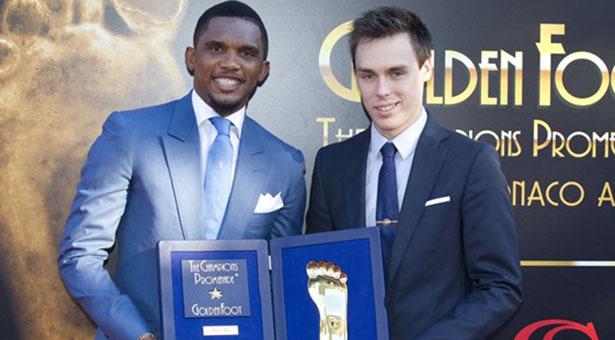Golden Foot Award 2015 : nouveau sacre pour Samuel Eto'o