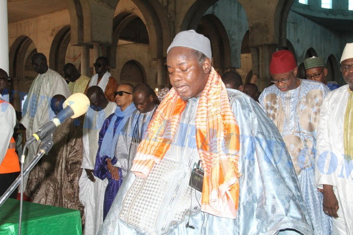 Les images de la célébration de l'Aid El Kabir 2015 à la mosquée Massalikoul Jinnan
