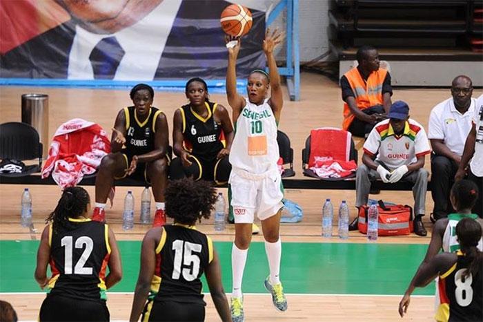 AFROBASKET FÉMININ : Le Sénégal domine largement la Guinée 102-44