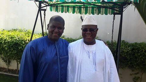 Tabaski 2015 : Le maire de Ziguinchor Abdoulaye Baldé pose avec son fils