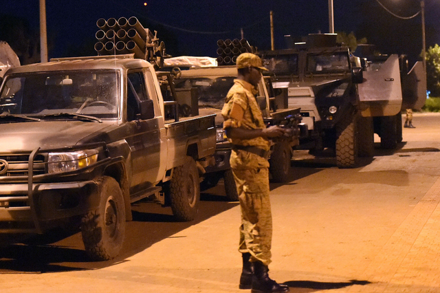 BURKINA : Communiqué sur l'arrêt du processus de désarmement du RSP