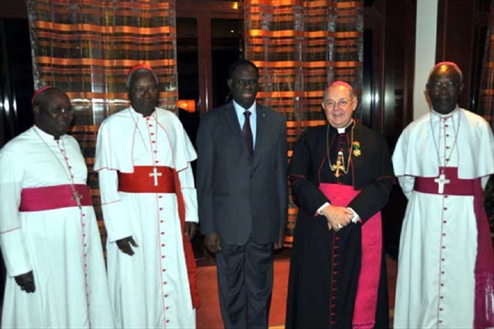 Maître Aly Somda accuse : « Le nonce apostolique Piergiorgio Bertoldi est un agent double du CNT et de l'Alliance impérialiste Franco-Américaine au Burkina Faso»