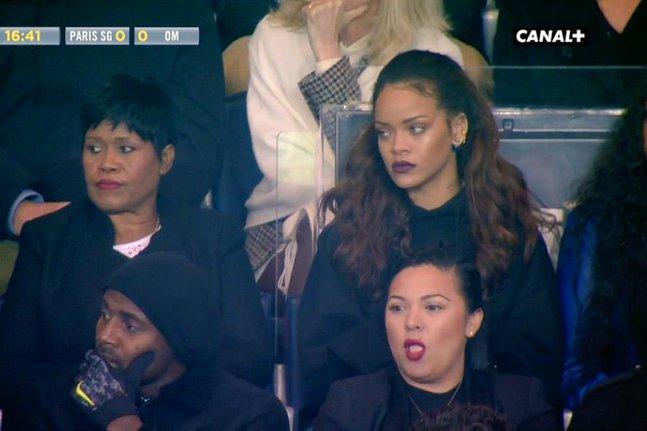 PSG-OM : Rihanna au Parc des Princes