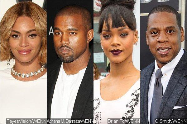 Rihanna, Beyoncé, Kanye West et Jay-Z attaquent la marque française Eleven Paris