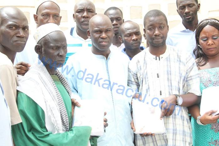 Ngoundiane : les images de la cérémonie de remise de fournitures scolaires aux écoles par le maire Mbaye Dione