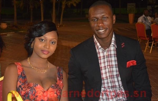 Le basketteur Sénégalais Gorgui Sy Dieng en compagnie de sa charmante épouse