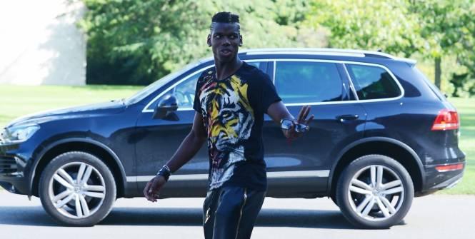 Forfait (entorse), Paul Pogba est rentré à Turin