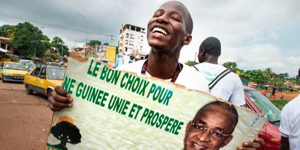 GUINÉE : La présidentielle « s'annonce serrée », selon l'Afrobaromètre (Jeune Afrique)
