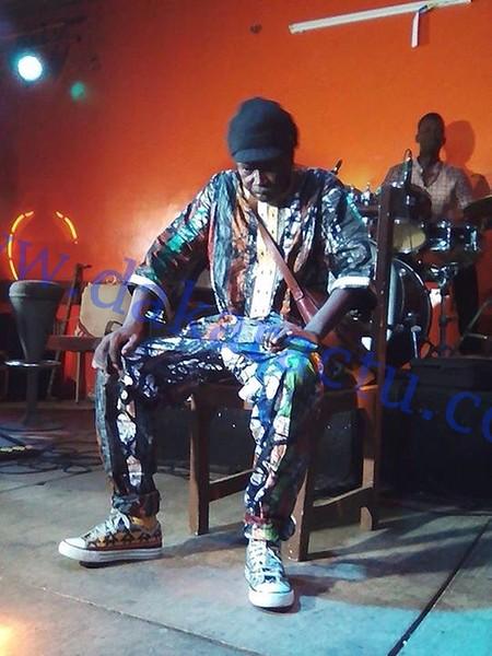 EXCLUSIF : Les dernières images du chanteur Moussa N'gom prises hier, au Just 4 U