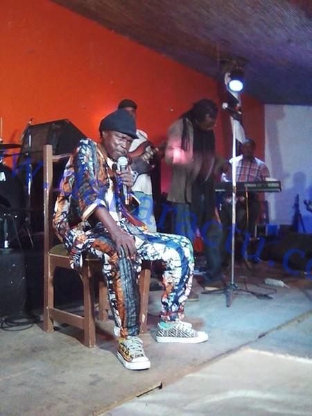 EXCLUSIF : Les dernières images du chanteur Moussa Ngom, hier, au Just 4 U