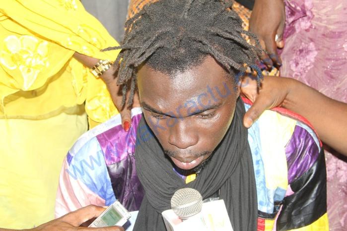 Cérémonie de levée du corps : Cheikh, l'un des fils de feu Moussa N'gom, inconsolable