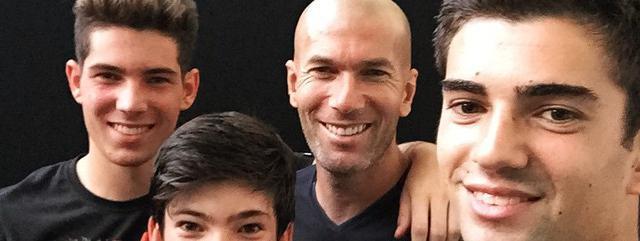 Zinédine Zidane révèle l'étonnant conseil qu'il donne à ses fils !