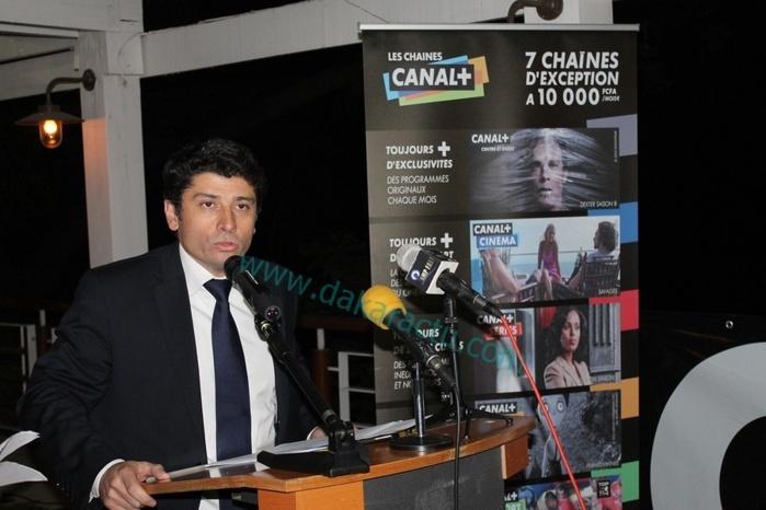 """""""La chaine cryptée Canal+ est massivement piratée au Sénégal"""", selon son directeur Sébastien Punturello"""