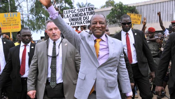 GUINÉE : Alpha Condé élu au premier tour de l'élection présidentielle avec 57,85% des voix (commission électorale)