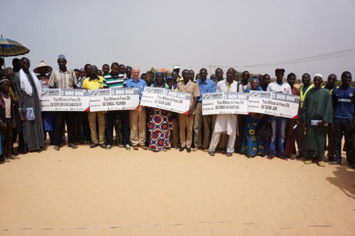 Développement Local: GCO débloque Quarante millions FCFA au profit des populations de Diogo et de Méouane