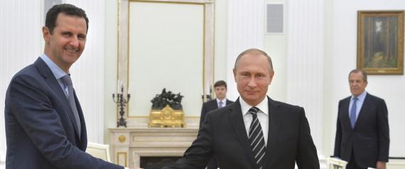 Assad rend une visite surprise à Poutine à Moscou