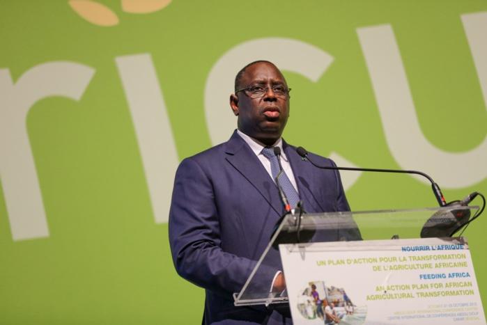 Conférence sur la transformation agricole du Continent : Macky Sall insiste sur l'échange d'expériences sur les meilleures pratiques