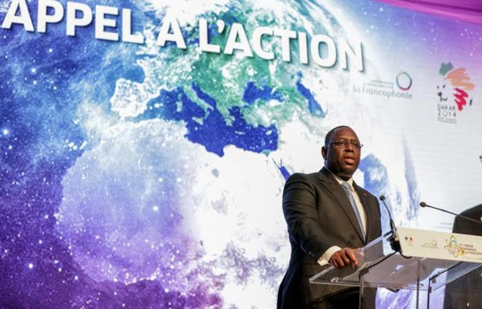 Discours du Président de la République Macky Sall lors de l'ouverture de la 2ème édition du forum économique Francophone à Paris