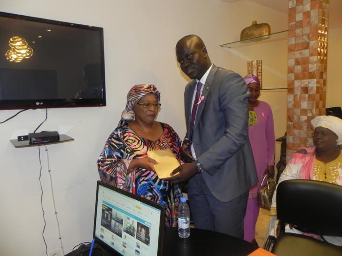 « Octobre Rose » : L'ADIE au chevet de la Ligue sénégalaise de lutte contre le Cancer