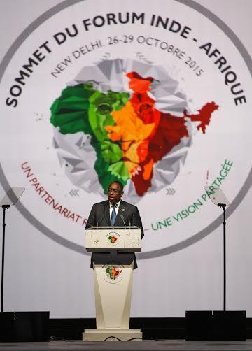 3ème SOMMET INDE-AFRIQUE : Macky Sall pour un partenariat de type nouveau