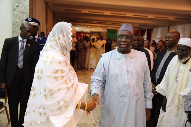 Audience de la communauté maure du Sénégal avec le Président Macky Sall