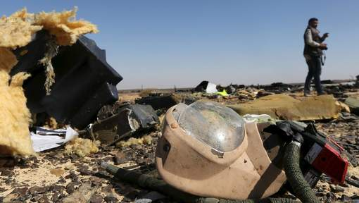 """Crash d'un avion de ligne Russe en Egypte : """"L'appareil s'est disloqué dans les airs"""""""