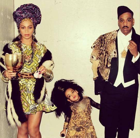 Les tenues de Beyoncé, Jay Z et de leur fille Blue Yve lors de la fête d'Halloween