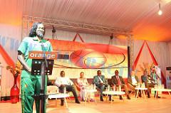 RÉCEPTION : Sabel Diatta remercie Orange au nom des Lionnes