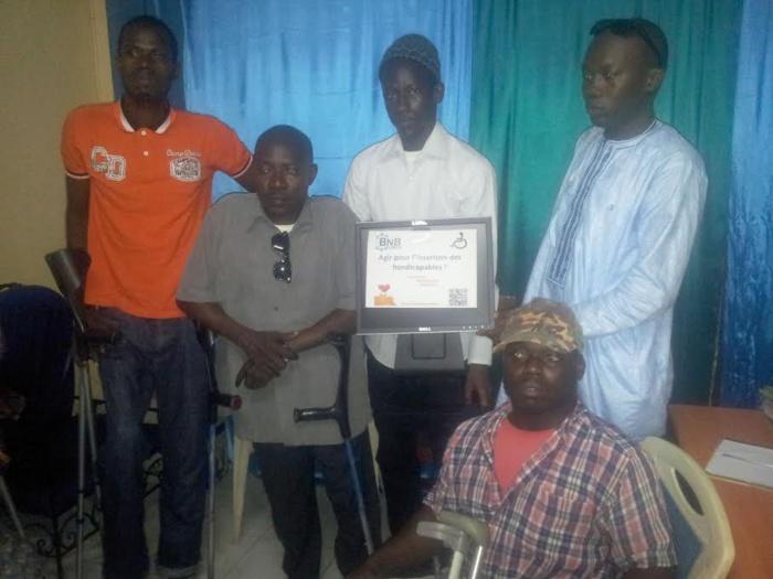 Lutte contre la mendicité : « Bnb Union » au chevet des handicapés de Grand-Dakar