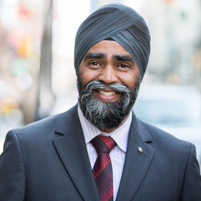 Canada harjit singh sajjan nouveau ministre de la for Ministre de defense